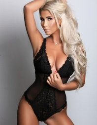 Angel in black lace bodysuit - European escort in Knightsbridge, Kensington