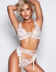 Elite escort Ashley in her agent provocateur lingerie. - European escort in Kensington, South Kensington, Central London
