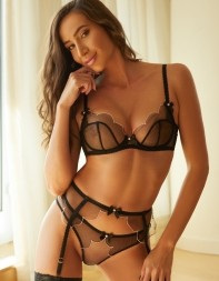 Top escort Meghan in her see through underwear. - European escort in Chelsea, South Kensington, Victoria